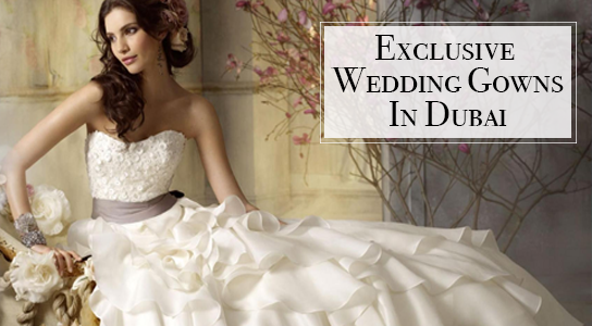 9aaa40702beb0 Exclusive Wedding Gown for Bridals in Dubai