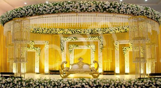 Kosha The Focal Point Of An Arabic Wedding Decor