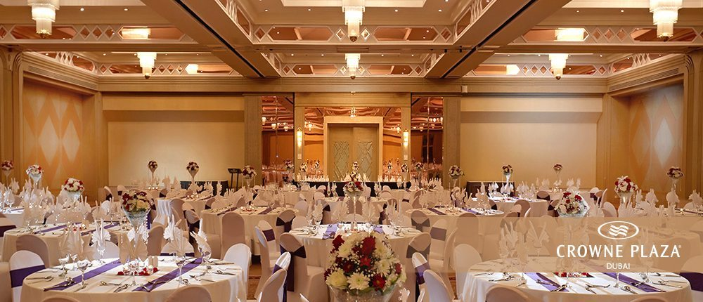 Crowne Plaza Dubai Best Destination For Dream Wedding