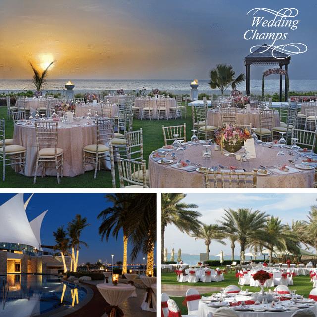 Beachy Wedding Ceremony Venues: Best Garden And Beach Wedding Venues In Dubai UAE