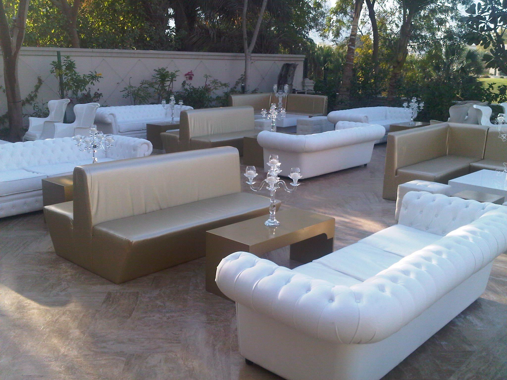 Catertainment furniture rental in dubai for Furniture rental