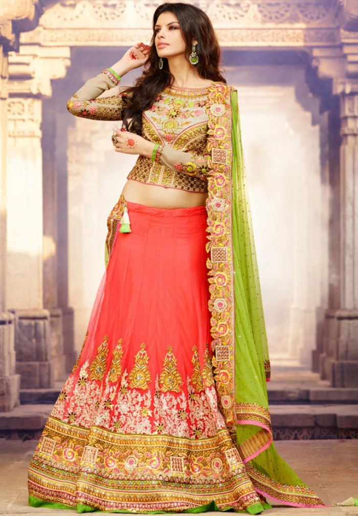 Indian Bridal Lehenga styles 2016