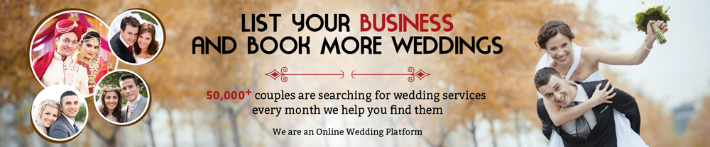 Weddignchamps List for business banners